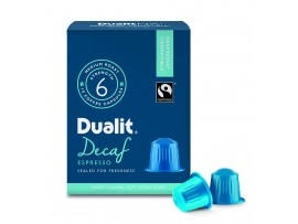 CAPSULE COFFEE DECAFFINATED DUALIT