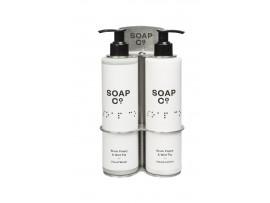 HOLDER BOTTLE DOUBLE FOR 300ML SOAP CO