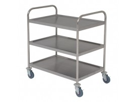 TROLLEY 3 TIER S/S