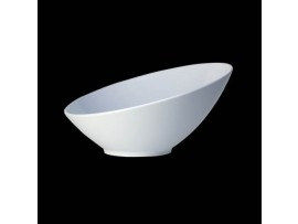 BOWL MELAMINE SHEER WHITE 30 X 14CM