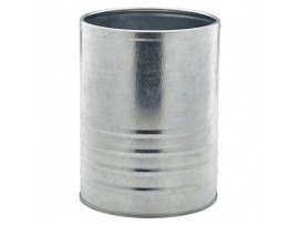 CAN STEEL GALVANISED 11CM