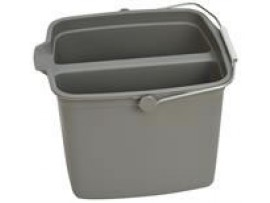 BUCKET GREY DIVIDED 14LT
