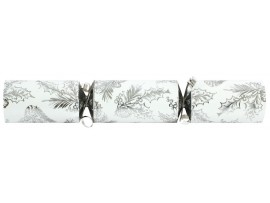 "12"" SILVER & WHITE FOLIAGE CRACKERS"