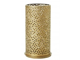 BILLY CANDLE HOLDER METAL GOLD