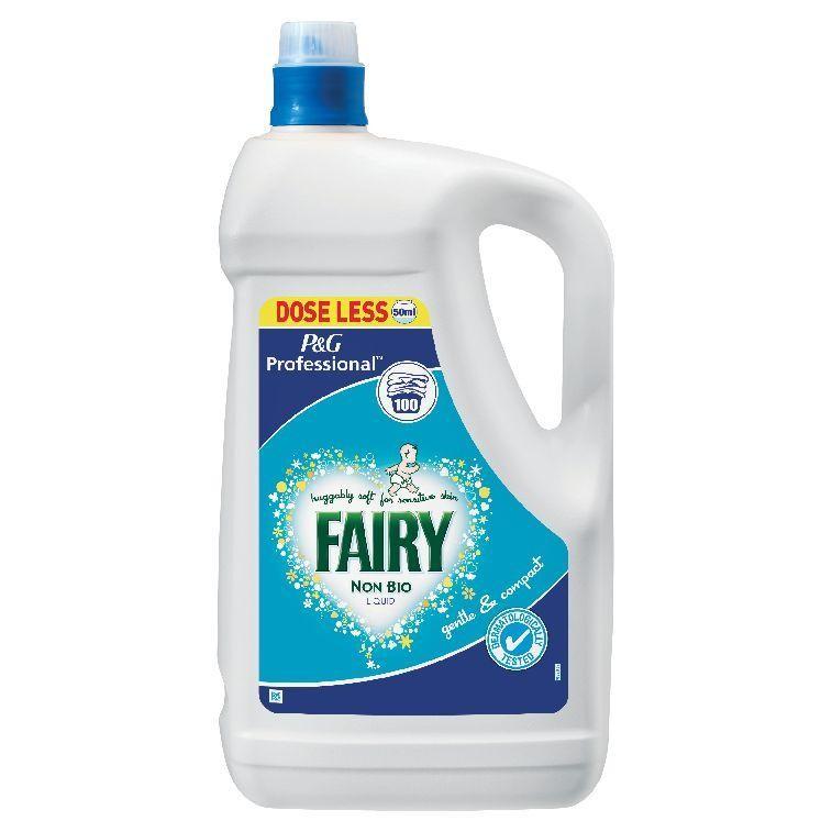 Detergent Laundry Liquid Fairy Non Bio Cmc201 Per